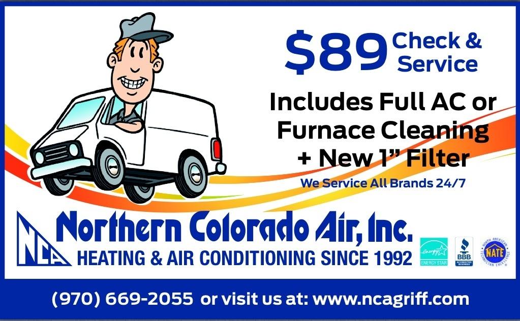 Specials Northern Colorado Air Inc